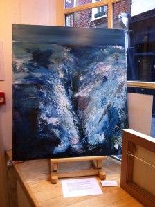 Lorraine Fossi painting