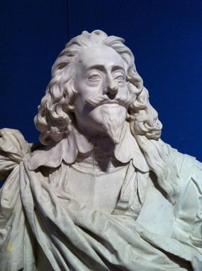 Charles II bust