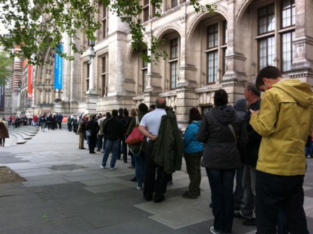 V&A-queue