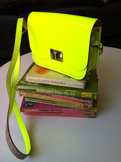 Paddington books and Cybher satchel
