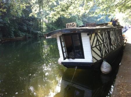 tudor canal narrow boat
