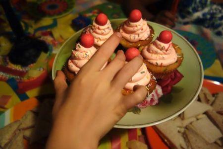 bubblegum cupcakes