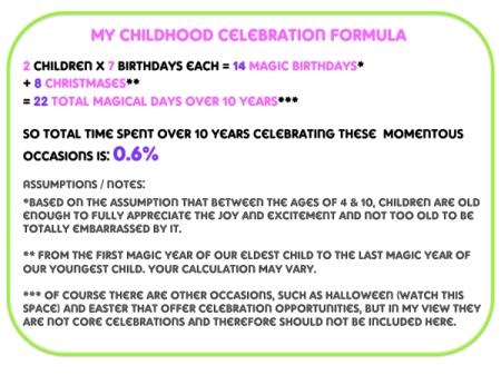 celebration formula