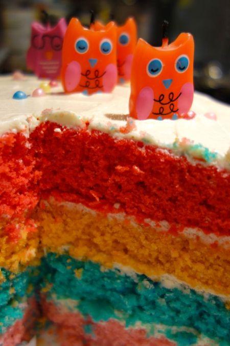 striped birthday cake cu
