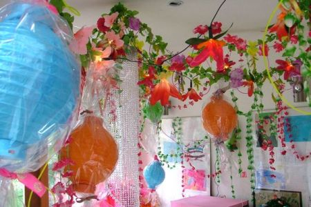 sweet party decorations