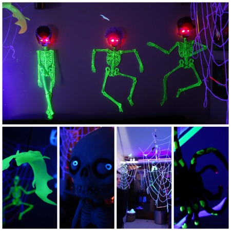 halloween uv collage