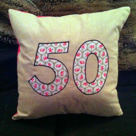 50 cushion