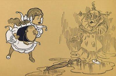 The Wonderful Wizard of Oz WW Denlow illustration
