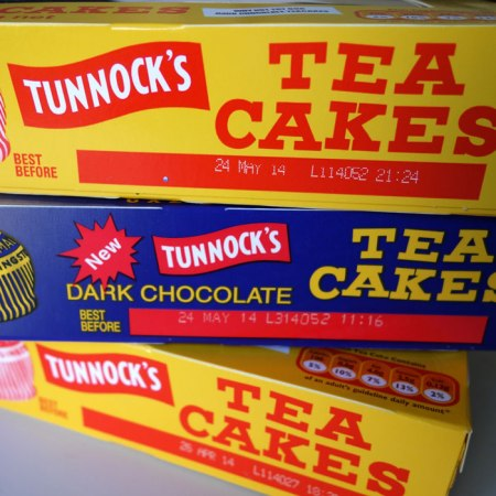 boxes of tunnocks teacakes