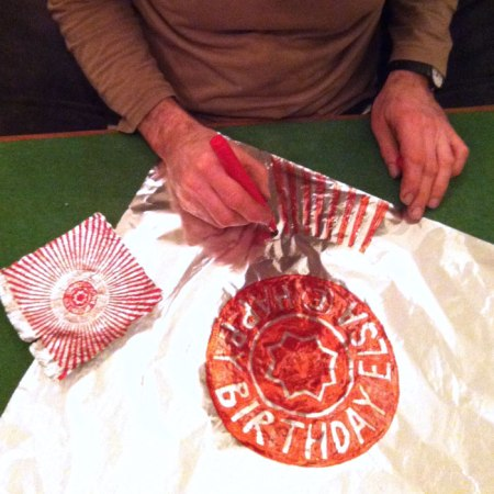 drawing teacake wrapper